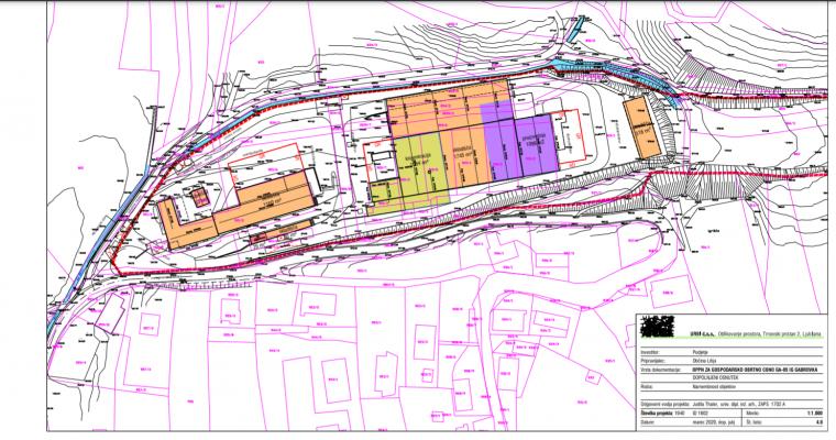 Javno naznanilo o javni razgrnitvi in javni obravnavi dopolnjenega osnutka občinskega podrobnega prostorskega načrta za gospodarsko obrtno cono EUP GA-05 IG Gabrovka in Okoljskega poročila za OPPN za gospodarsko obrtno cono EUP GA-05 IG Gabrovka